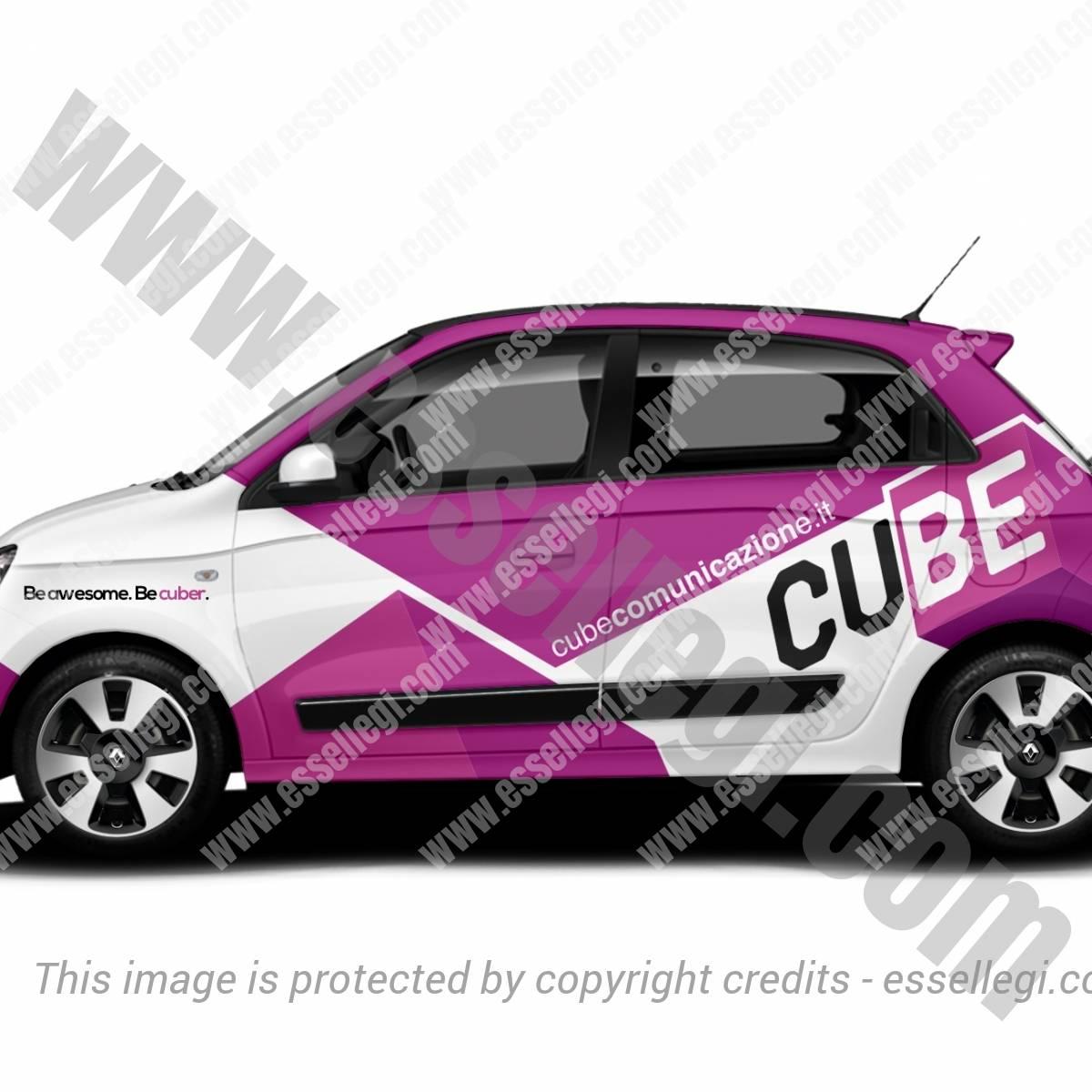 CUBE COMUNICAZIONE | CAR WRAP DESIGN 🇮🇹