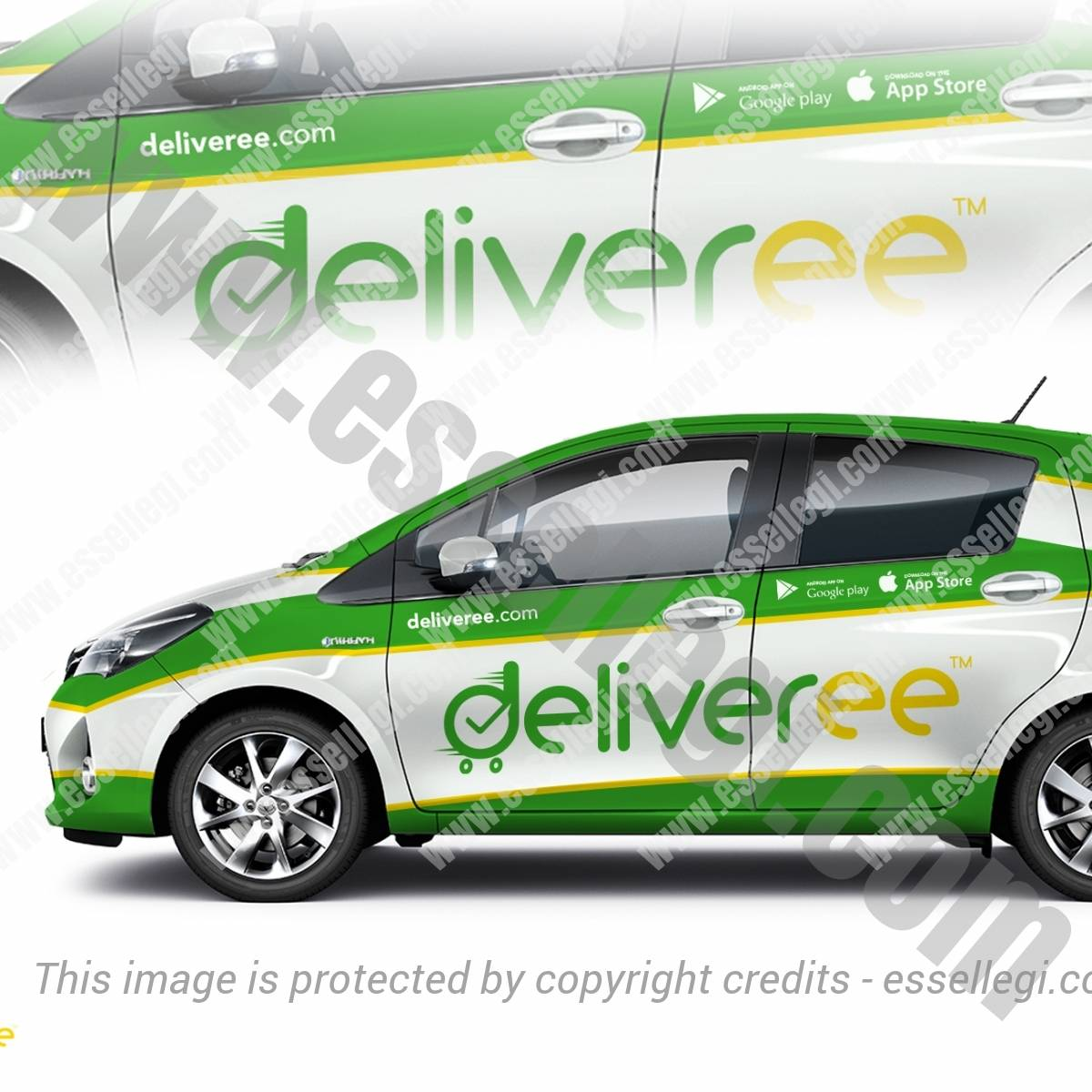 DELIVEREE | CAR, TRUCK AND VAN WRAP DESIGN 🇹🇭