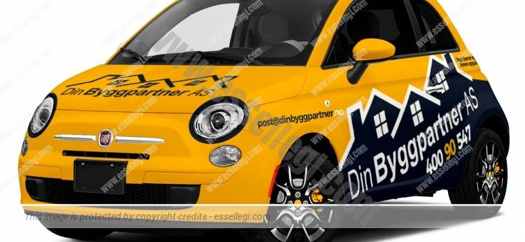 FIAT 500 | CAR WRAP DESIGN