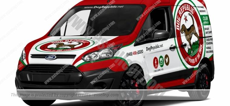 FORD TRANSIT CONNECT SWB | VAN WRAP DESIGN