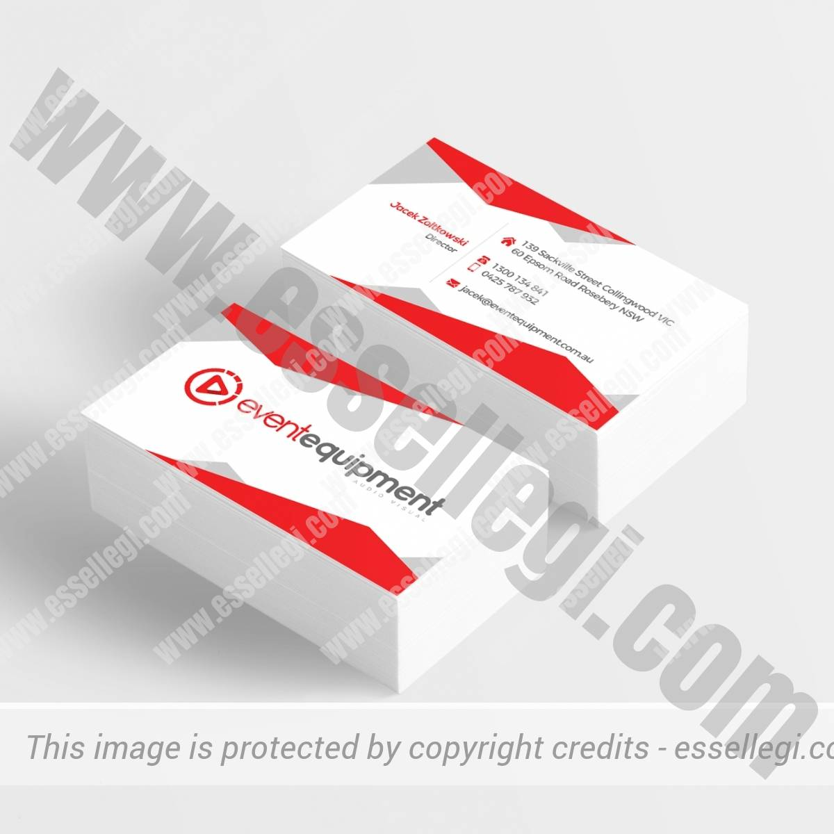 EVENTEQUIPMENT | BUSINESS CARD DESIGN 🇦🇺
