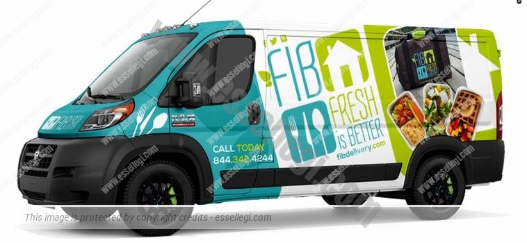 DODGE RAM PROMASTER 1500 | VAN WRAP DESIGN