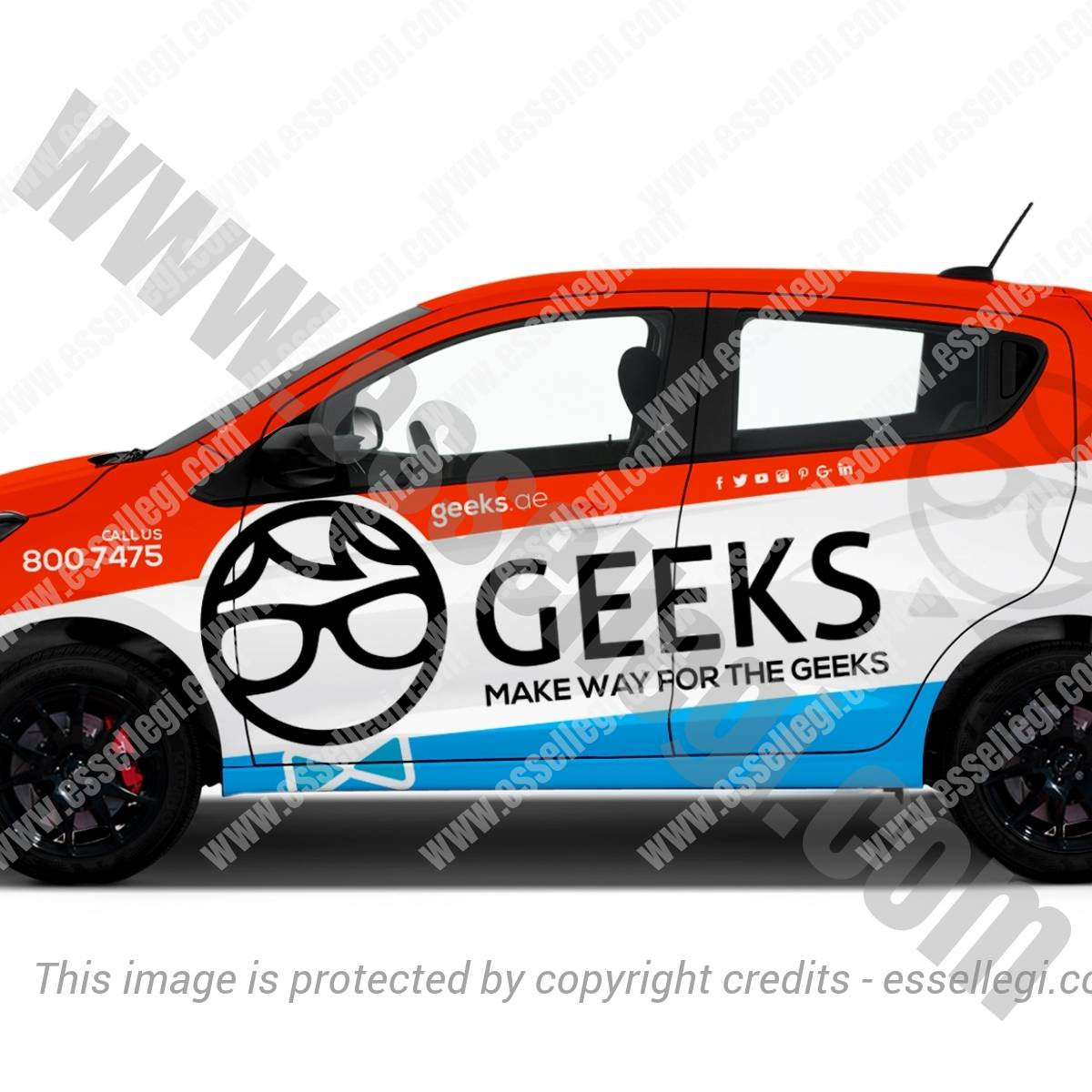 GEEKS | CAR WRAP DESIGN 🇦🇪