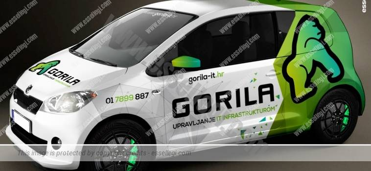 SKODA CITIGO | CAR WRAP DESIGN