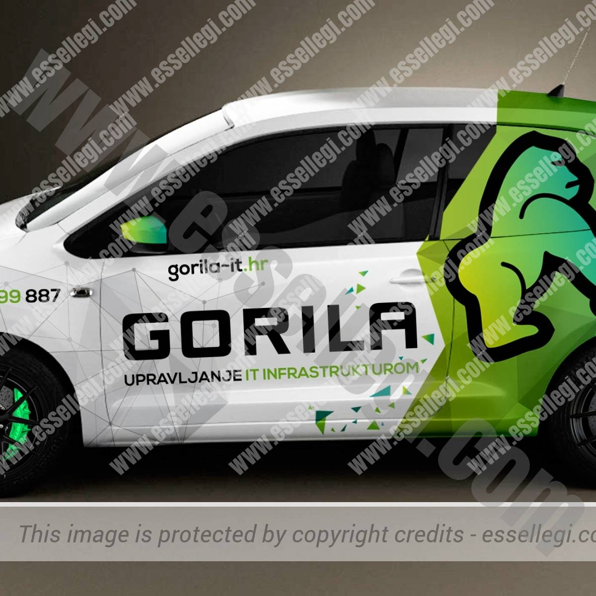 GORILA IT | CAR WRAP DESIGN 🇭🇷