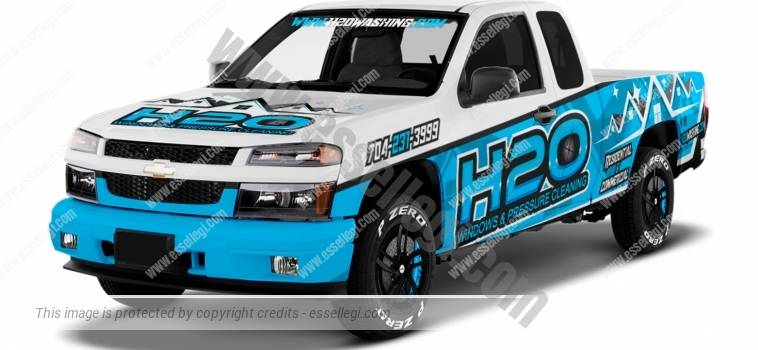 CHEVY COLORADO | TRUCK WRAP DESIGN
