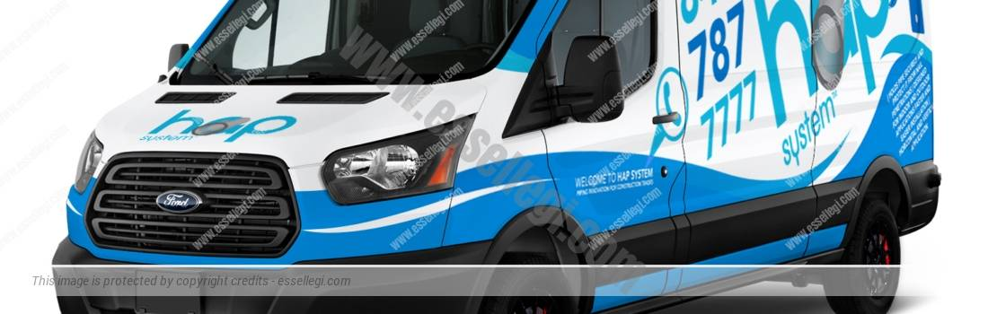 FORD TRANSIT 350 | VAN WRAP DESIGN