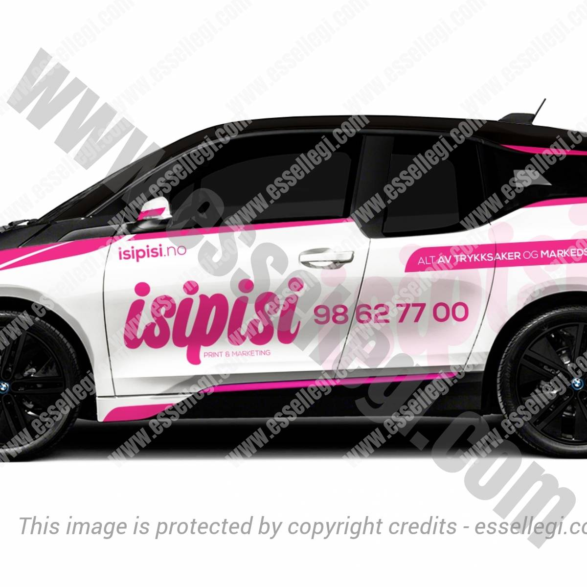 ISIPISI | CAR WRAP DESIGN 🇳🇴