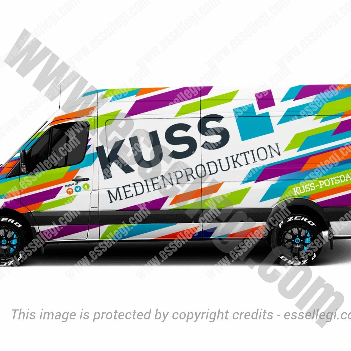 KUSS | VAN WRAP DESIGN 🇩🇪