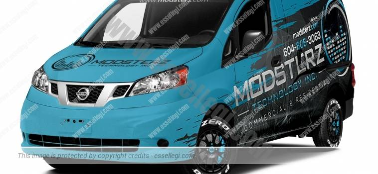NISSAN NV200 | VAN WRAP DESIGN