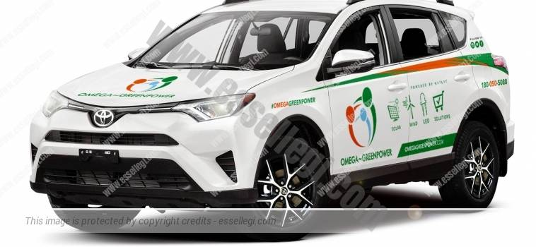 TOYOTA RAV4 | CAR WRAP DESIGN