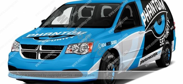 DODGE GRAN CARAVAN | VAN WRAP DESIGN