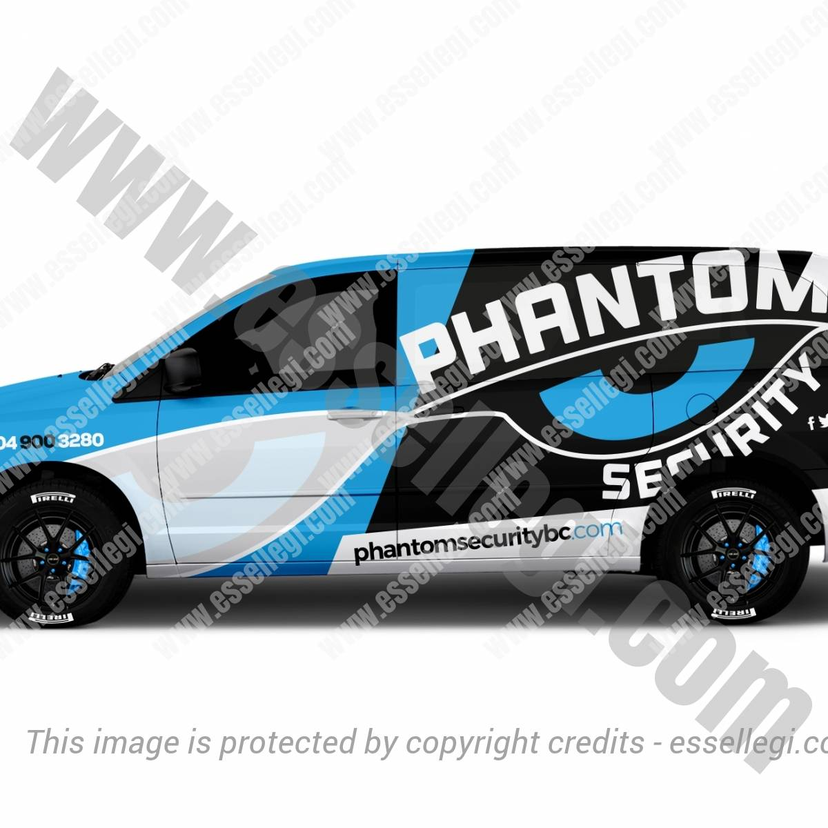 PHANTOM SECURITY | VAN WRAP DESIGN 🇨🇦