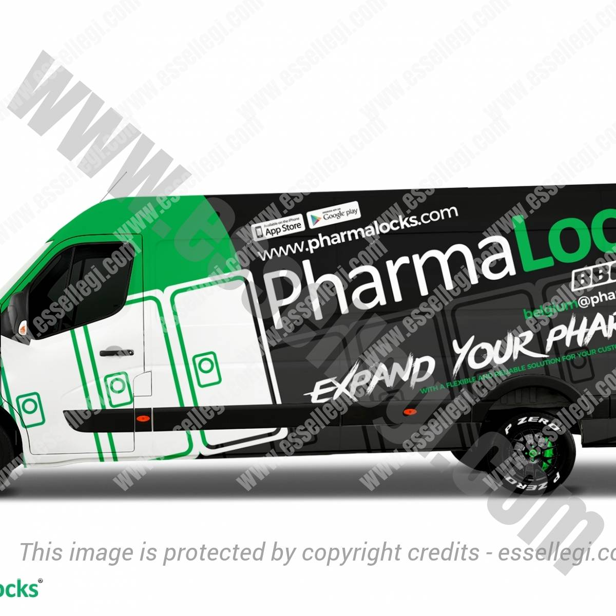 PHARMALOCKS | VAN WRAP DESIGN 🇧🇪