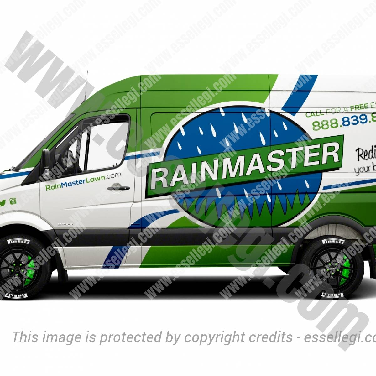 RAINMASTER | VAN WRAP DESIGN 🇺🇸