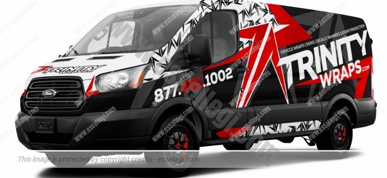 FORD TRANSIT 250 | VAN WRAP DESIGN