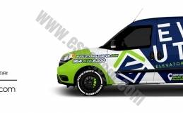 DODGE RAM PROMASTER CITY | VAN WRAP DESIGN