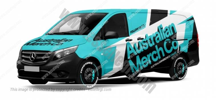 MERCEDES VITO LWB | VAN WRAP DESIGN
