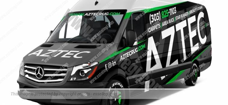 MERCEDES SPRINTER | VAN WRAP DESIGN