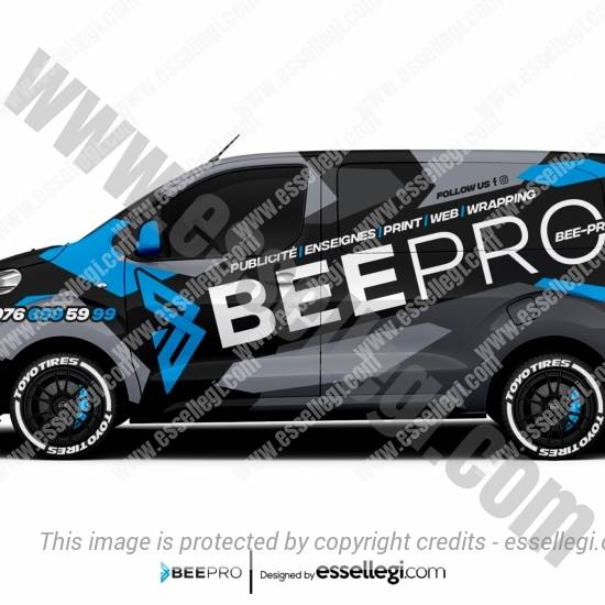 BEEPRO | VAN WRAP DESIGN 🇨🇭