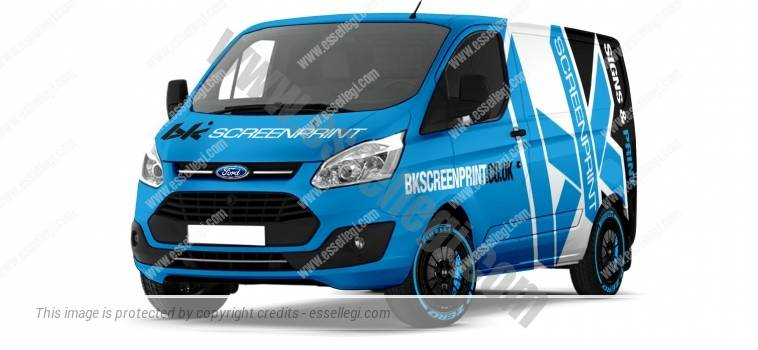 FORD TRANSIT CUSTOM SWB | VAN WRAP DESIGN