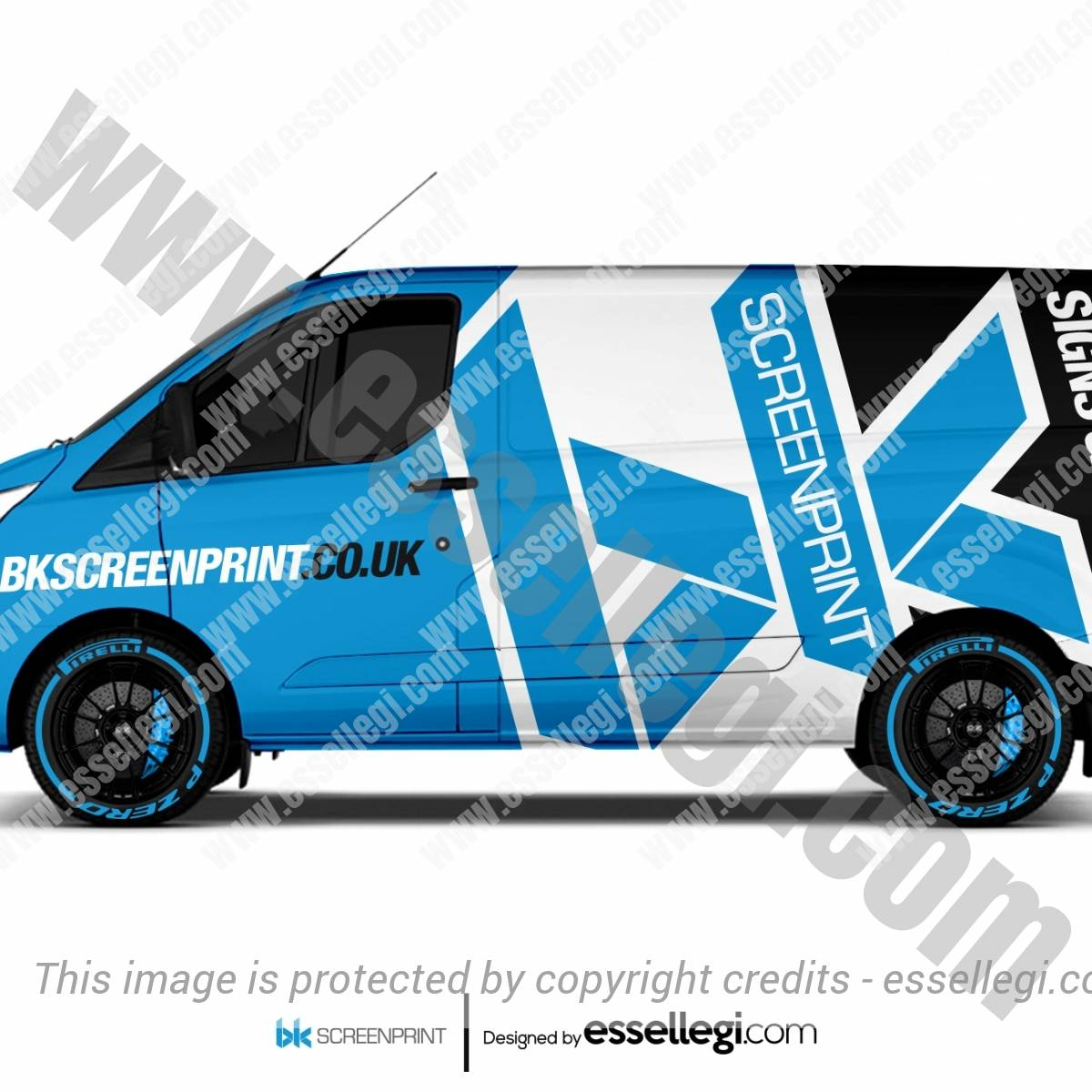 BK SCREENPRINT | VAN WRAP DESIGN 🇬🇧