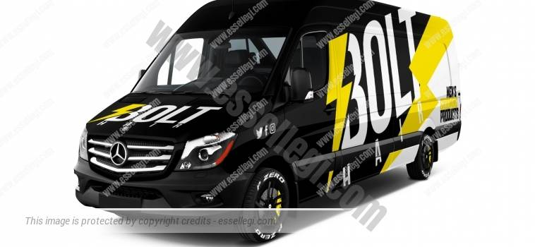 MERCEDES SPRINTER EXTRA LONG HIGH ROOF | VAN WRAP DESIGN