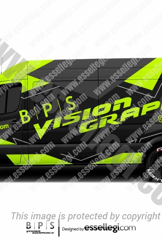 BPS VISION GRAPHICS | VAN WRAP DESIGN 🇺🇸