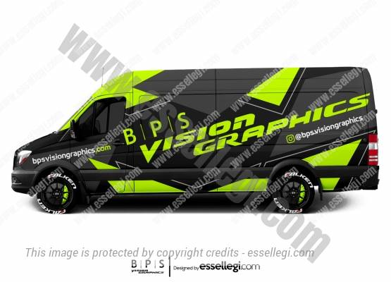 BPS VISION GRAPHICS | VAN WRAP DESIGN 🇺🇸