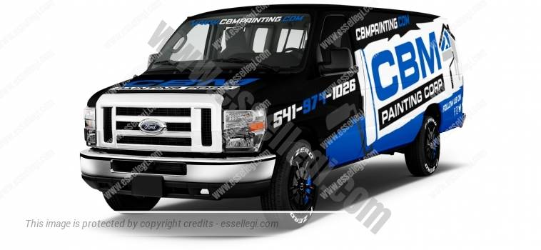 FORD E150 | VAN WRAP DESIGN