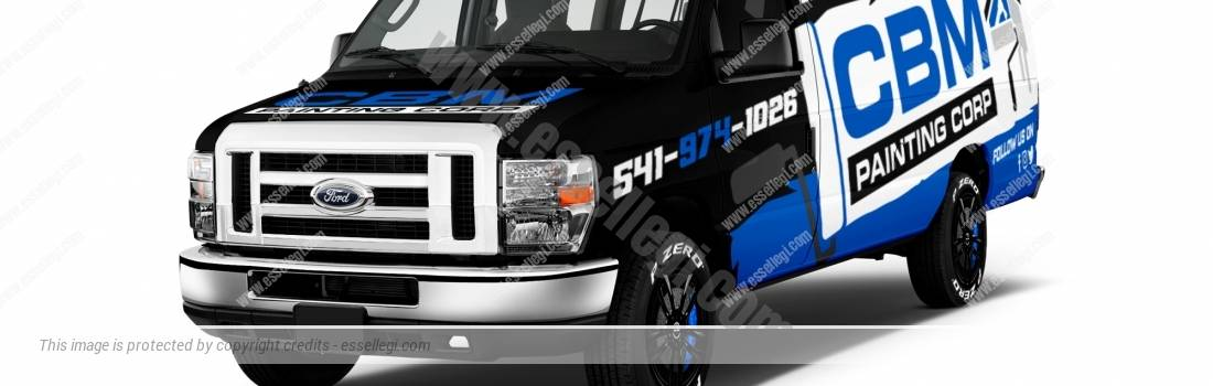 Ford E-150 | Van Wrap Design by Essellegi Wrap Design