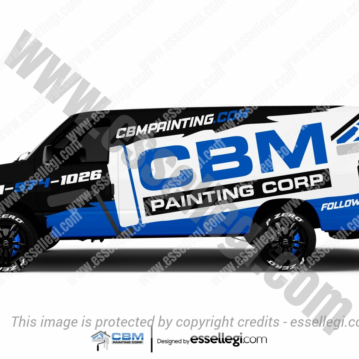 CBM PAINTING | VAN WRAP DESIGN 🇺🇸