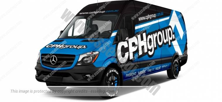 MERCEDES SPRINTER LONG HIGH ROOF | VAN WRAP DESIGN