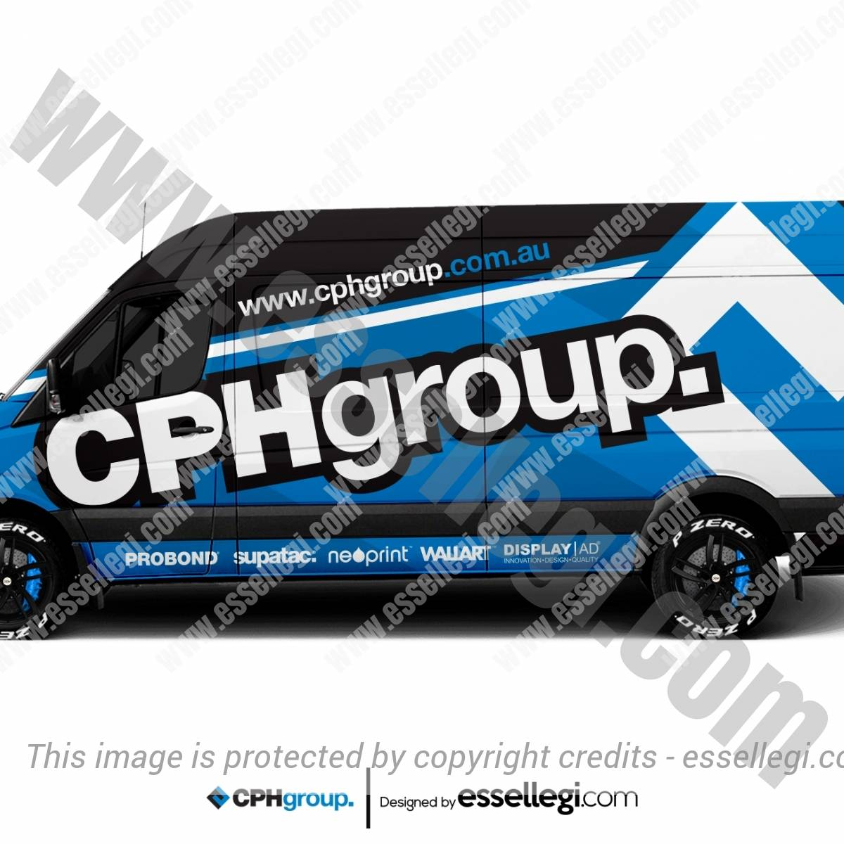 CPH GROUP | VAN WRAP DESIGN 🇦🇺