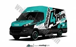 IVECO DAILY SWB | VAN WRAP DESIGN