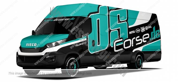 IVECO DAILY EXTRA LONG | VAN WRAP DESIGN