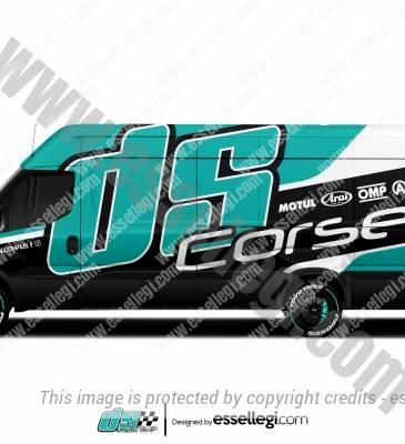 DS CORSE | VAN WRAP DESIGN 🇩🇪