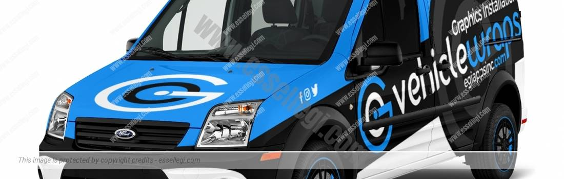 FORD TRANSIT CONNECT | VAN WRAP DESIGN
