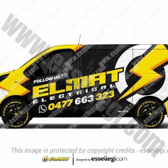 ELMAT ELECTRICAL | VAN WRAP DESIGN 🇬🇧