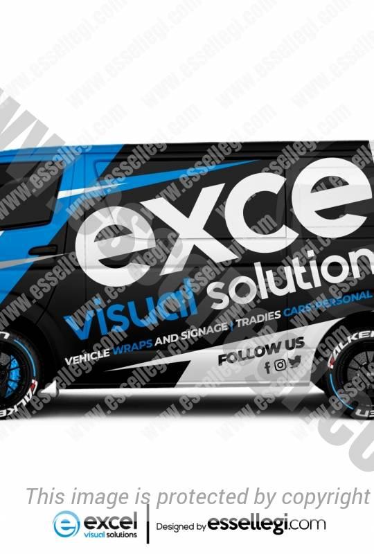 EXCEL VISUAL SOLUTIONS | VAN WRAP DESIGN 🇦🇺