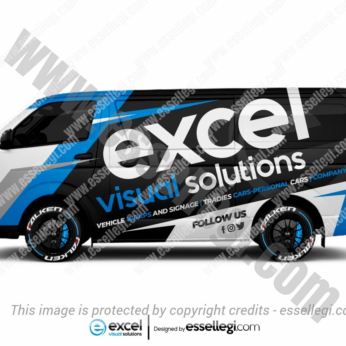 EXCEL VISUAL SOLUTIONS | VAN WRAP DESIGN 🇦🇺