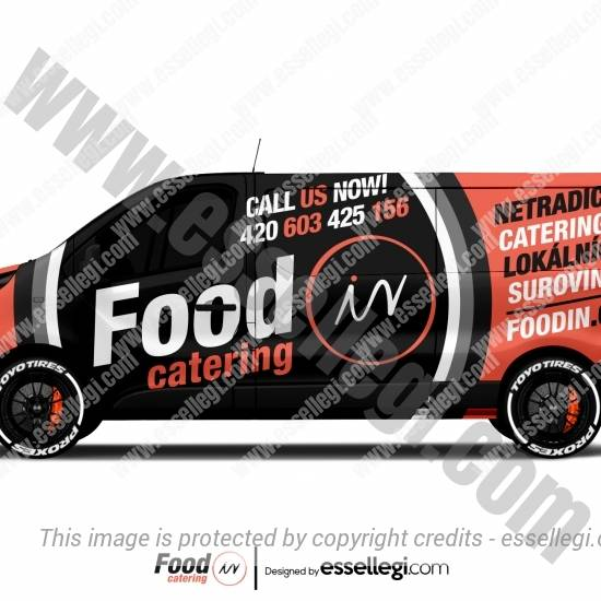 FOODIN | VAN WRAP DESIGN 🇨🇿