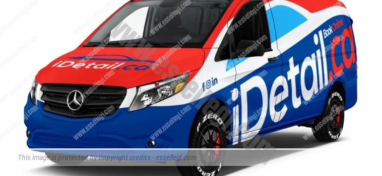 MERCEDES METRIS | VAN WRAP DESIGN