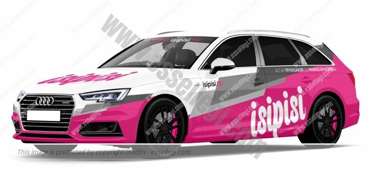 AUDI A4 AVANT | CAR WRAP DESIGN
