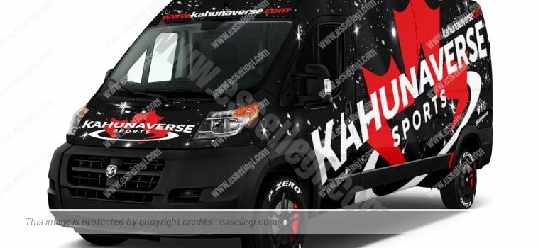 DODGE RAM PROMASTER 2500 | VAN WRAP DESIGN