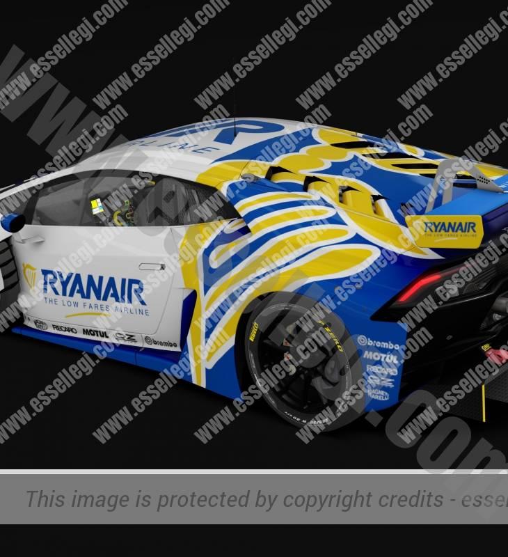 LAMBORGHINI HURACAN GT3 | RYANAIR TRIBUTE RACING CAR LIVERY