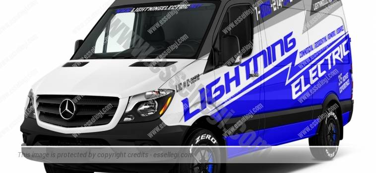 MERCEDES SPRINTER 2500 SWB | VAN WRAP DESIGN