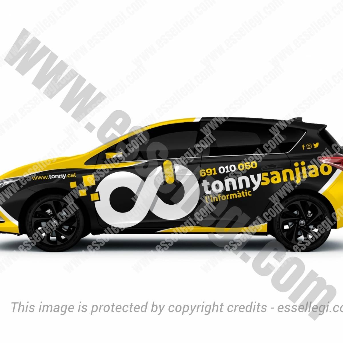TONNY SANJIAO – L'INFORMATIC | CAR WRAP DESIGN 🇪🇸
