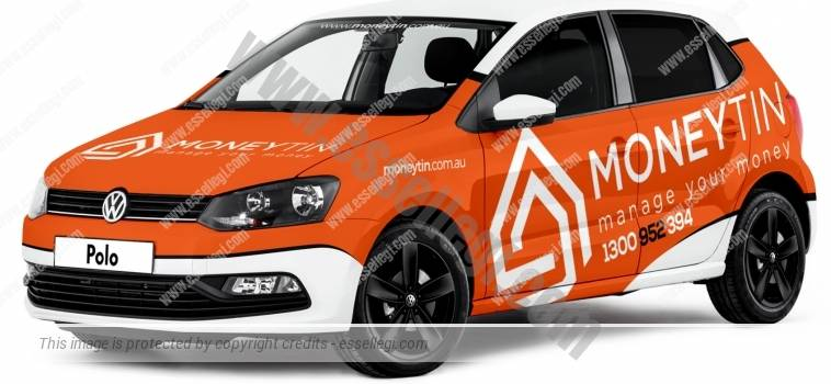 VOLKSWAGEN POLO | CAR WRAP DESIGN