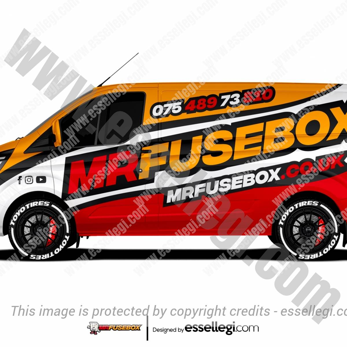 MR FUSEBOX | VAN WRAP DESIGN 🇬🇧